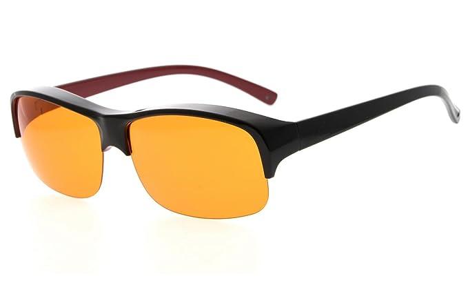 26f7287d307 Amazon.com  Eyekepper 100% Anti-Blue Light Blocking Fitover Glasses ...