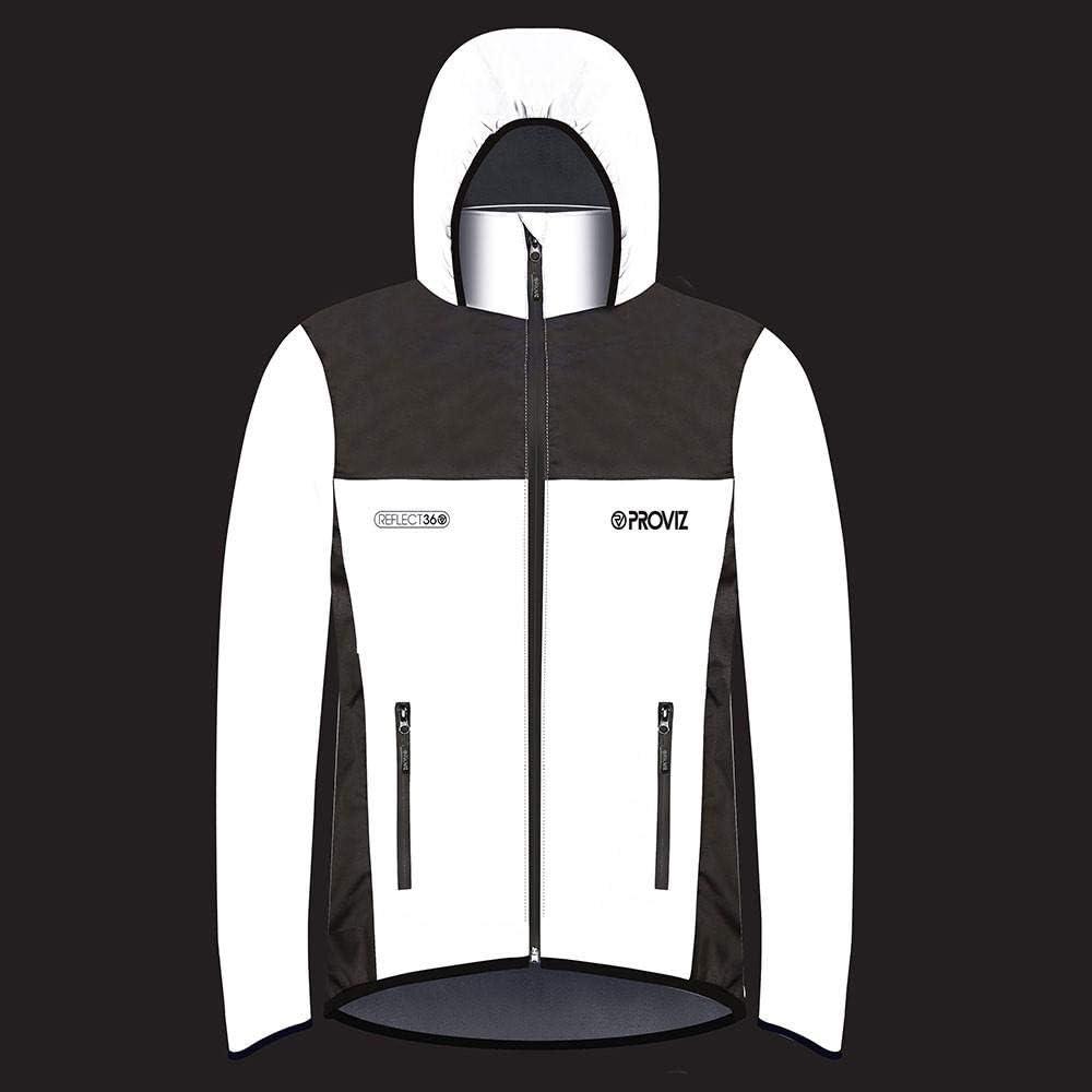 Proviz Childrens REFLECT360 Fleece-Lined Waterproof /& Reflective Jacket