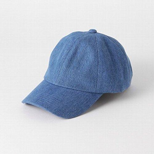 Amazon | アナザーエディション(Another Edition) プレーンソフトキャップ/AEBFC PLN Soft CAP【コバルトブルー/フリー(00)】 | ファッション小物 通販