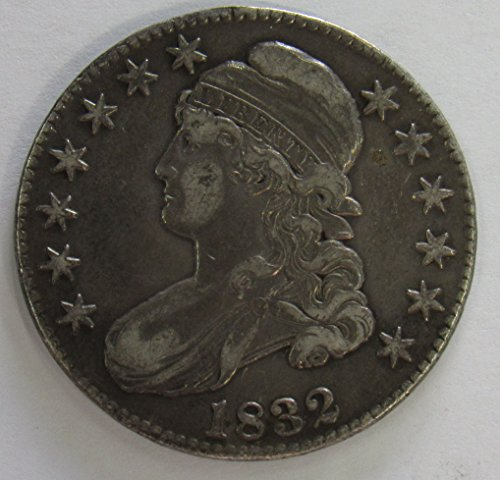 (1832 Capped Bust Half Dollar 50c Extremely Fine Details O-103 R.1)