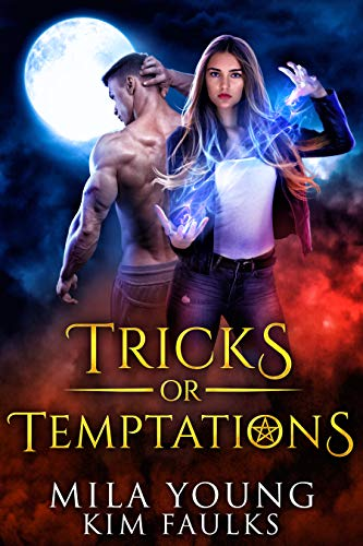 Demon Wolves Halloween (Tricks or Temptations: Halloween Special - Paranormal Reverse Harem Romance Academy (Beautiful Beasts)
