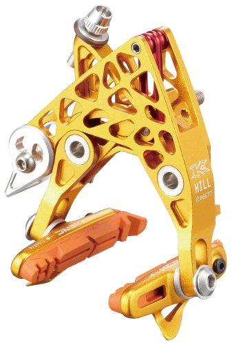 KCNC ブレーキ CB4 キャリパーブレーキ AL6061 ペア パッドツキ B00IKCE4ZM ゴールド ゴールド