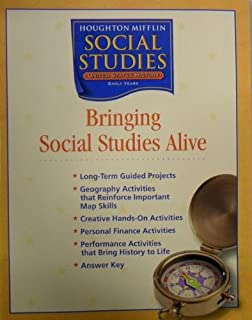 Houghton Mifflin Social Studies Bringing Social Studies Alive Grade 5 Us History The Early