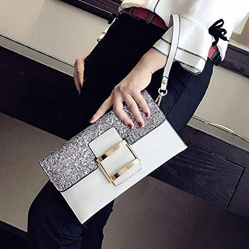 Aoligei Version coréenne de sac à main féminin du petit côté package fashion unique épaule oblique cross sac féminin C