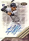 2018 Topps Tier One #BA-MA Miguel Andujar Certified Autograph Baseball Rookie Card - Only 275 made!