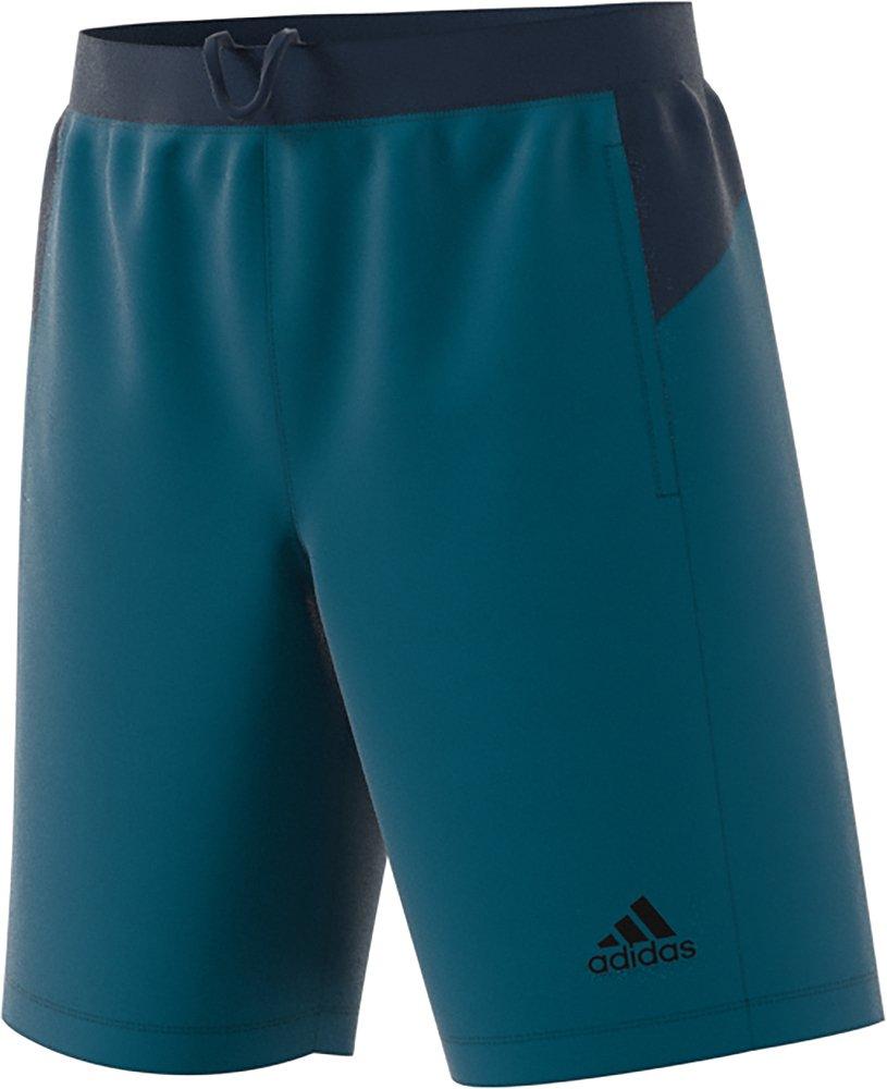 adidas Mens D2m Woven Short, Real Tea, XX-Large
