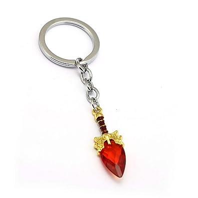 Amazon.com: Dota 2 Keychain Aghanims Scepter Key Chain 3 ...
