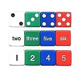 KOPLOW GAMES INC. NUMBER DICE SET (Set of 24)