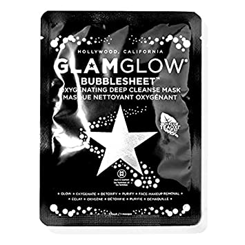 GLAM GLOW – Bubblesheet Oxygenating Deep Cleanse Mask 6 Masks