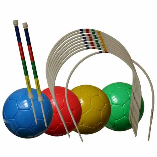 Supersize Kick Croquet 4 Player by Oakley Woods Croquet
