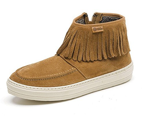 NATURAL ECO WORLD Boots Women's Leather RRYr8wx