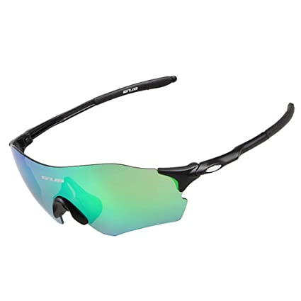 50e34528a9 Aolvo Polarized Sports Sunglasses Men Women UV400 Protection Mtorcycle  Cycling Riding Glass Eyewear Accessories for Running Fishing Driving  Outdoor ...