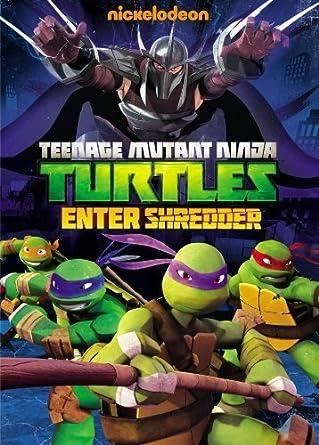 Amazon.com: Teenage Mutant Ninja Turtles: Enter Shredder by ...