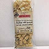 Tiberino's Real Italian Meals - Rigatoni with Broccoli raisin, almonds, and bottarga