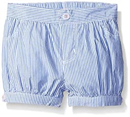 Gymboree Girls\' Blue and White Striped Bubble Short, Multi, 3-6 Months