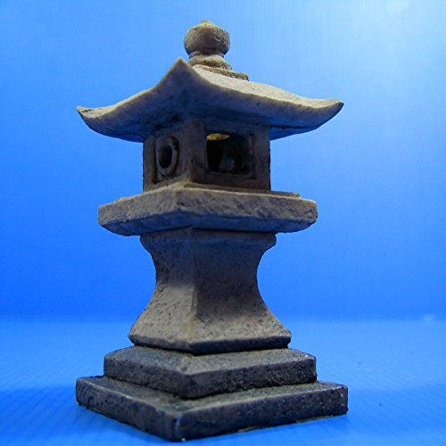 Japanese garden Decoration 4.8x 4.8x10cm Aquarium Ornament Decor fish tank