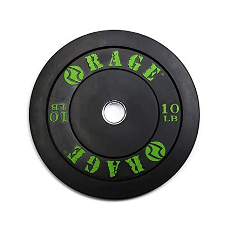 Amazon rage fitness pro olympic bumper plate sold