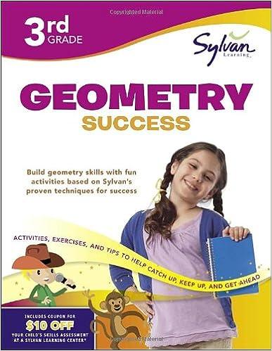Third Grade Geometry Success (Sylvan Workbooks) (Math