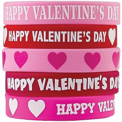 HAPPY VALENTINES DAY WRISTBANDS Estimated Price £7.01 -
