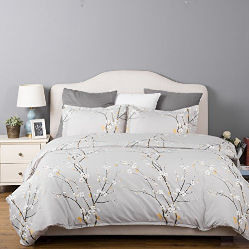 Spring Bloom Pattern Bedding Set Full/Queen (90