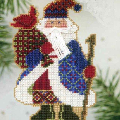 Cardinal Santa - Alpine Santas (beaded (Cardinals Santa)