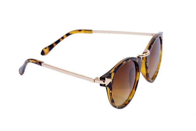 02056e54c Eye Candy Fashionable Trendy Leopard Print Cat Eye Frame Brown ...