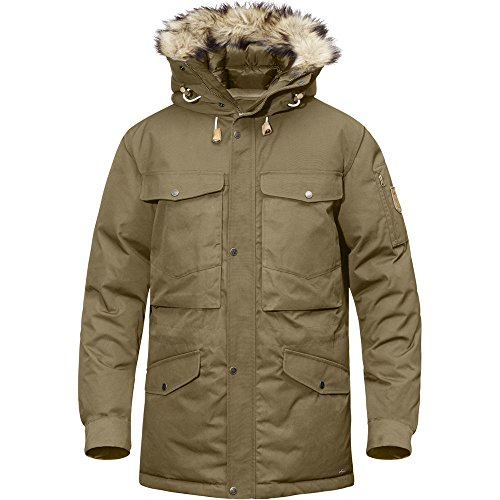 Fjallraven Men's Singi Down Jacket, Sand, XXL