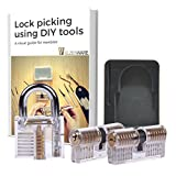 #1: Clear practice lock set for lock training - Novelty gifts - Puzzles for adults and kids by ElzenWare