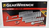 GearWrench 80300 51 Piece 1/4-Inch Drive 6 Point Socket Set