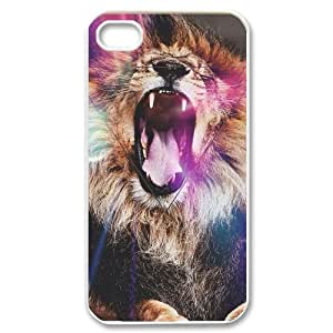 Lion ZLB554449 Customized Phone Case for Iphone 4,4S, Iphone 4,4S Case