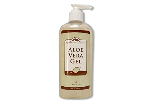 Aloe Vera Gel Mountain Rose Herbs 8 oz