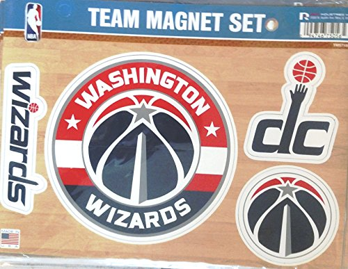 Washington Wizards NEW ROUND LOGO Multi Die Cut Magnet Sheet Auto Home NBA Basketball