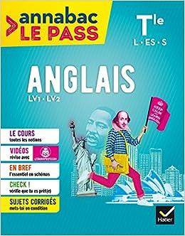 Anglais Tle L, ES, S: cours, cartes mentales, sujets corrigés... et vidéos Annabac Le Pass: Amazon.es: Sylvie Douglade-Val: Libros en idiomas extranjeros