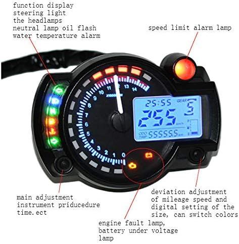Waterproof Bicycle Bike Cycle 2LCD Display Digital Computer Speedometer Odometer