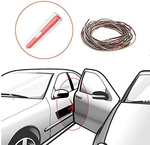 16FT//5M Rubber Strip Car Door Scratch Edge Guard Protector Sticker Trim Moulding