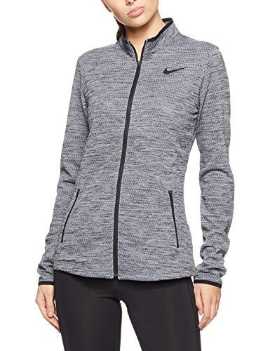 Nike Womens Dri-Fit Zip-Up Athletic Jacket Gray XS (Women Nike Gym Jacket)