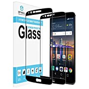 [2-PACK] LG Stylo 3/Stylus 3/LS777 Screen Protector, MP-MALL [Tempered Glass] [Full Cover] with Lifetime Replacement Warranty - Black [Not Fit for LG Stylo 3 Plus]