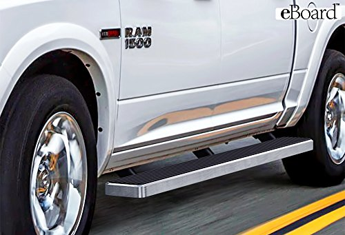 6 inch eBoard Running Boards Aluminum For 09-16 Dodge Ram 1500/2500/3500 Crew Cab Side Step Rails Tube Nerf Bars (2014 Ram 3500 Running Boards compare prices)