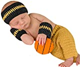 Melondipity Baby Boys Basketball Set - Sweatband, Wristband, Shorts and Ball