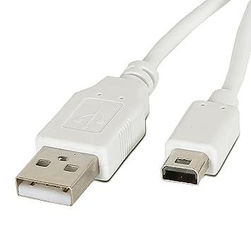 enterest 9,8 pies Cable de Cargador USB para Nintendo Wii U ...