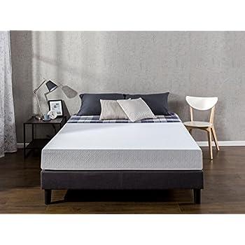 zinus 8 inch gel infused green tea memory foam mattress queen kitchen dining. Black Bedroom Furniture Sets. Home Design Ideas