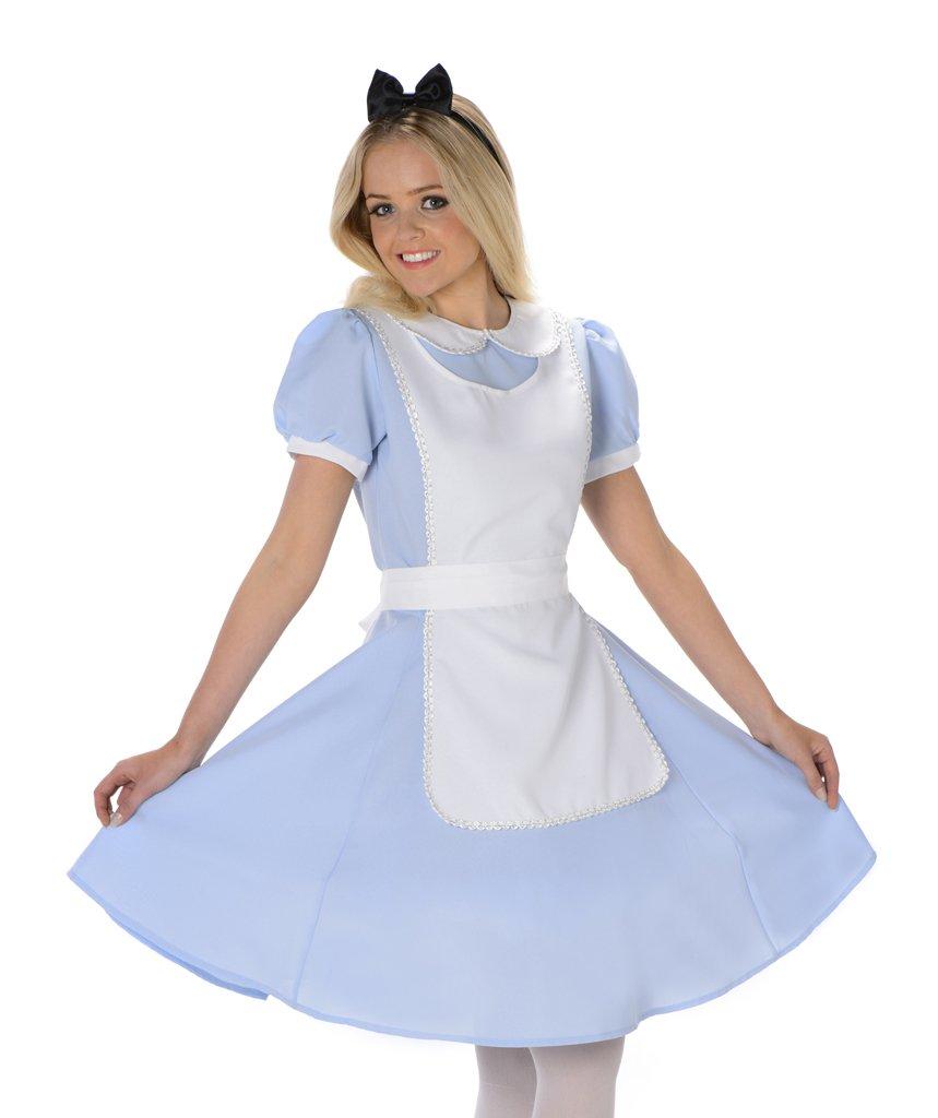 Disfraz de Alicia en «Alicia en el País de las Maravillas», vestido elegante para mujer adulta: Amazon.es: Juguetes y juegos