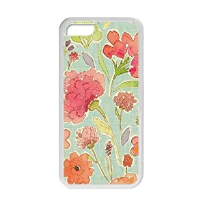 glam flowers bloom personalized high quality cell phone Iphone 5C