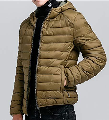 Maschile 3 Puffer Piumini Inverno Outwear Leggero Packable Gocgt BA1Pq6P