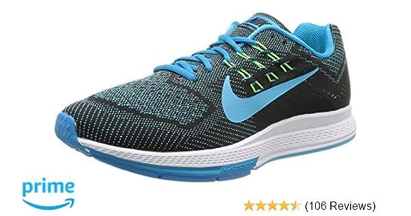 finest selection 5c107 5ba10 Amazon.com | Nike Men's Air Zoom Structure 18 Blue Lagoon/Clrwtr/Blk/Flsh  Lm Running Shoe 9.5 Men US | Road Running