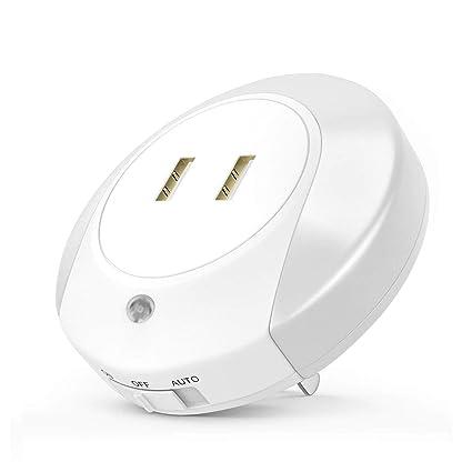 Amazon.com: ailuner LED de pared Luz de Sensor Automático de ...