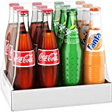 Mexican Coke Fiesta Pack%2C 12 fl oz Gla