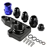 3 4 oil filter adapter - Ford Modular V8 4.6L 5.4L Anodized Remote Oil Filter Relocation Adapter + 12AN Oil Fittings