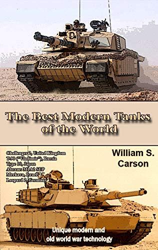 Modern Battle Tanks - The Best Modern Tanks of the World: Unique modern and old world war technology