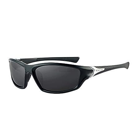 Funmo Gafas Deportivas para Hombres y Mujeres, Gafas de Sol polarizadas antirreflectantes, Gafas de Sol montadas, Gafas de Sol de protección UV400, ...